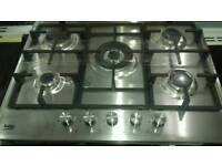Hobs 5 burners new never used offer sale £98