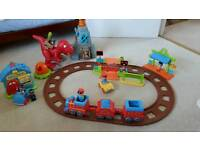 Happyland Train Set + Police Station+Dino Set
