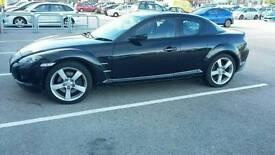 Mazda RX8 black for sale 55 plate