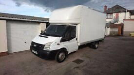 Ford Transit LWB Luton Van with tail lift