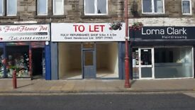Shop for rent to let Cowdenbeath Fife