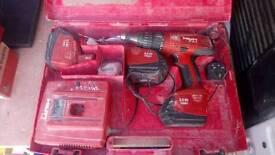 Hilti battery gun