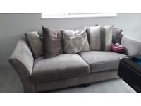 4 seater Sofa - excellent condition 2years old!