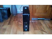 Dell Optiplex 380 Base Unit - 3gb DDR3 RAM; 80 Gb HDD; Upgraded Quad Core Xeon E5420/Q9300 2.5 ghz