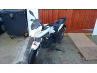 Lexmoto ZSX-F 125 low mileage with helmet £1000 OBO