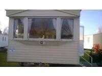 Caravan to hire @ Marton Mere, Blackpool 8 Berth