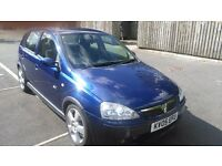 Price slashed for quick sale .Vauxhall Corsa 1.4 SRI Blue 5 door MOT until March 2017