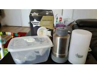 Breast pump and thermos
