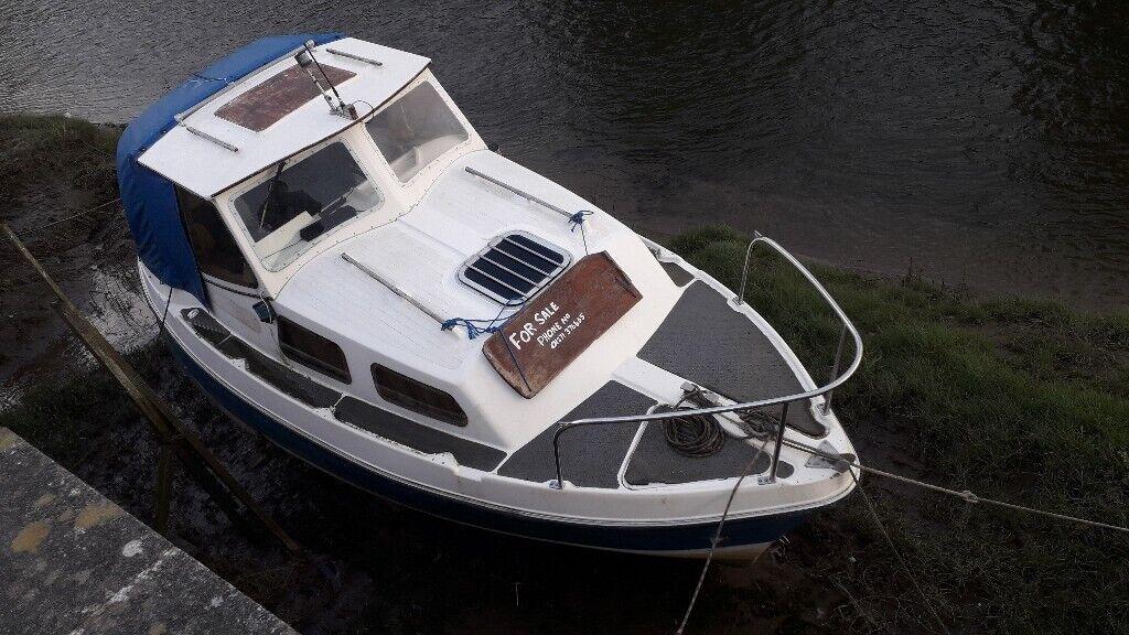 21ft starley sundowner motor boat | in Barnstaple, Devon | Gumtree