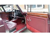 1969 Classic car 3.5 Liter v8 Rover P5b Coupe automatic auto