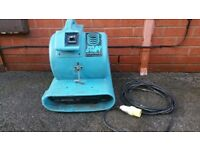 Turbo dryer sarah pro carpet fan in working order 3 speed fan!can deliver!
