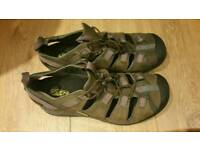 New Keen arroyo 2 sandals trainers with cycling cleat fitting size 42 uk8