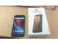 "Motorola MOTO G 4th Gen 4G **UNLOCKED ANY SIM** BOXED 5.5"" FULL HD Android smart"