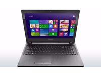 LENOVO G50 / INTEL 2.16 GHz/ 4 GB Ram/ 500 GB HDD/ HDMI / WEBCAM/ USB 3.0/ BLUETOOTH/ WINDOWS 10