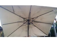 Large Garden Parasol Umbrella Sun Shade Outdoor Patio Furniture Ikea 330x240 cm