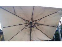 Large Garden Parasol Umbrella Sun Shade Outdoor Patio Furniture Ikea 330x240 cm