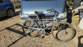 Raliegh Rhapsody 5 speed 26inch wheel ladies town bike