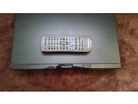 Panasonic DVD-S500 DVD Player - Black with Remote