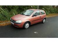 Vauxhall corsa 1.2. Low miles and brand new clutch with an oil change