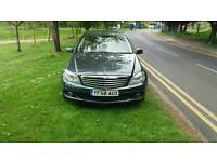 ××××BARGAIN××××MERCEDES BENZ C CLASS C220 CDI ELEGANCE AUTOMATIC WITH LONG MOT BEIGE LEATHER