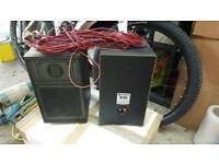 Hitachi speakers with cable