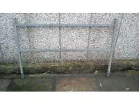 Ifor Williams P6E trailer ladder rack