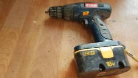 Ryobi 18v powerful drill in good working order