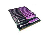 Job Lot: 12 x CORSAIR 1GB DDR2 DESKTOP RAM 5400 C4 675Mhz