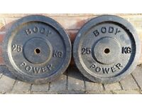 25KG CAST IRON BODY POWER WEIGHT PLATES
