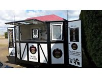 Food Catering Trailer - Eyecatching and Distinctive ready to go!