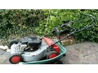 Petrol mower. Repair or spares