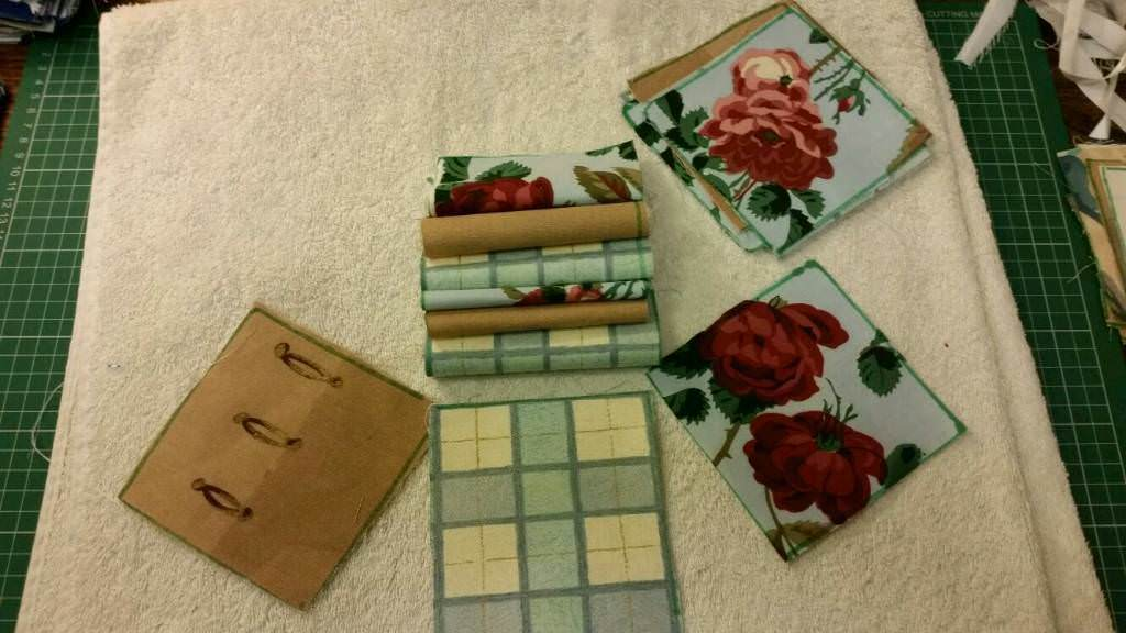 Patchwork squares 4 inches