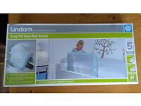 For Sale: Lindam Easy Fit Blue Bed Guard