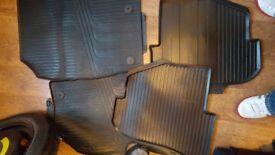 Audi a1 rubber matts