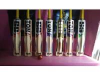 Cricket bats brand new