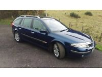 Renault Laguna .. very low milage and in great condition for year mechanically all good drives well.