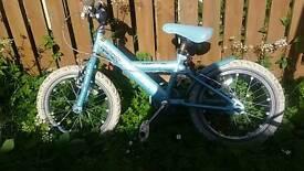 Girls two wheeled bike Apollo spRkle