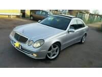 Mercedes e320cdi panoramic roof amg alloys auto px swap welcome