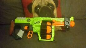 Nerf guns in brilliant condition like new would be perfect Xmas gift