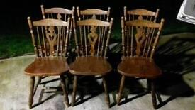 6 kitchen dinning chairs