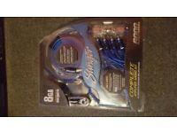 STINGER complete amplifier wiring kit.. 6000 Series