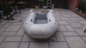 INFLATABLE DINGHY , TENDER RIB SIB BOAT WILL TAKE OUTBOARD MOTOR