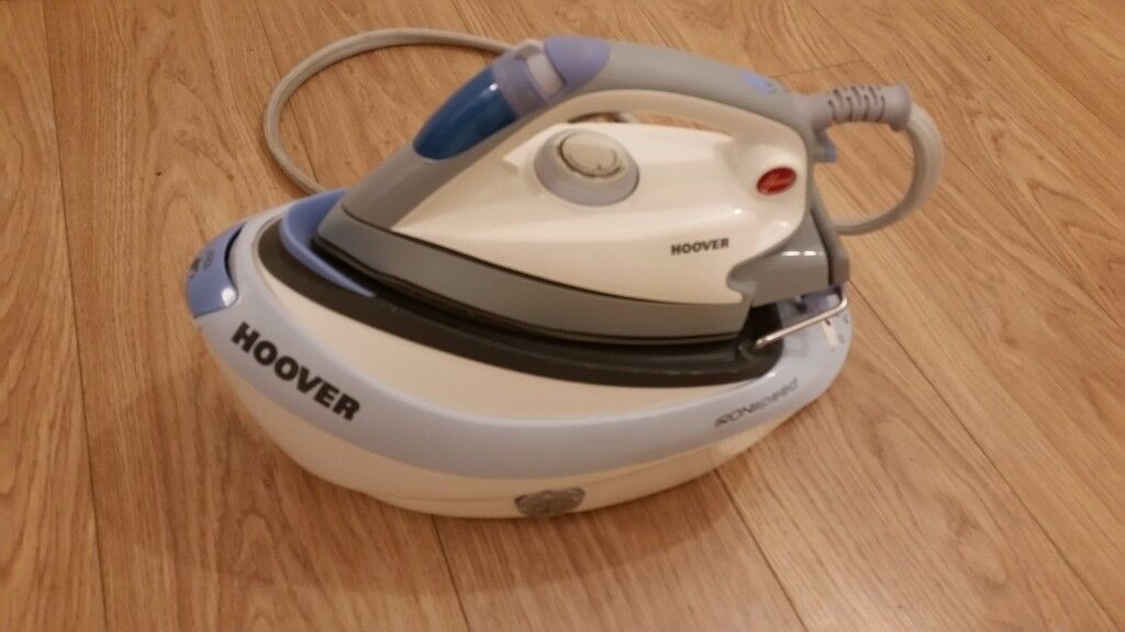 Hoover ironspeed steam generator iron 1000gr p/m 4.5 bar calc removal slot iron ironing
