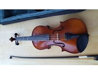 3/4 size violin Primavera with case and bow