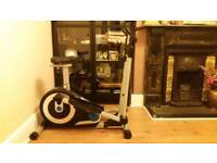 Mint condition 2 in 1- Excerise Bike/Cross Trainer