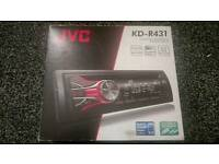 Jvc cd/mp3/usb player in box excellent condition