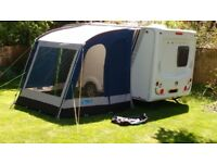 Caravan Porch Awning Kampa Rally 200 in excellent condition.