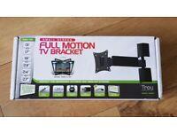 TV / Monitor VESA Full Motion Wall Mount Bracket (Brand New) up to 15kg