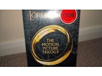 lord of the rings trilogy brand new