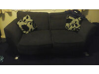 Sofa Suite Large in Charcoal